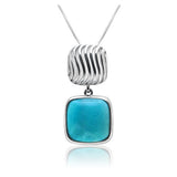 Scout Elegant Larimar Pendant - Exclusive Diamond Co