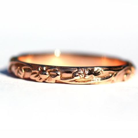 Dixie Garland Rose Gold Ring - Exclusive Diamond Co