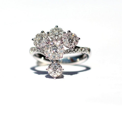 exclusive diamonds diamond wp hand ring made