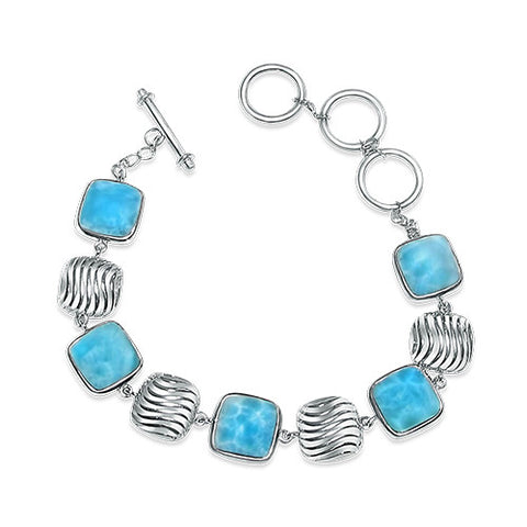 Scout Elegant Larimar Bracelet - Exclusive Diamond Co