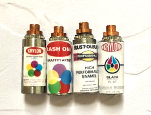 1:12 Spray Paint Cans