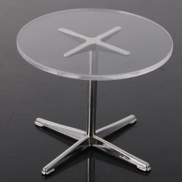 1/12 Clear Round Table Coffee Table