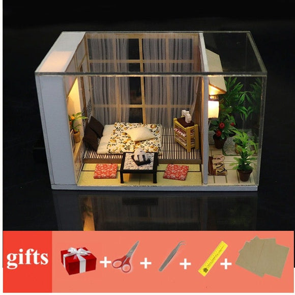 DIY Poppenhuis miniature dollhouse kit
