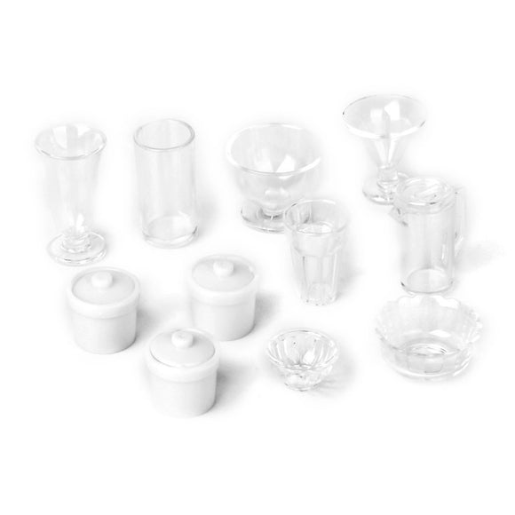 11pc Miniature Plastic Kitchen Set
