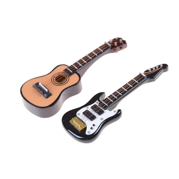 1:12 1PCS Guitar Miniature Instrument