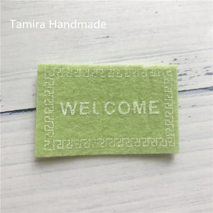 1/12 Welcome Mat