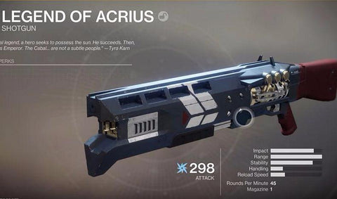 Legend of Acrius - Best Destiny Carries