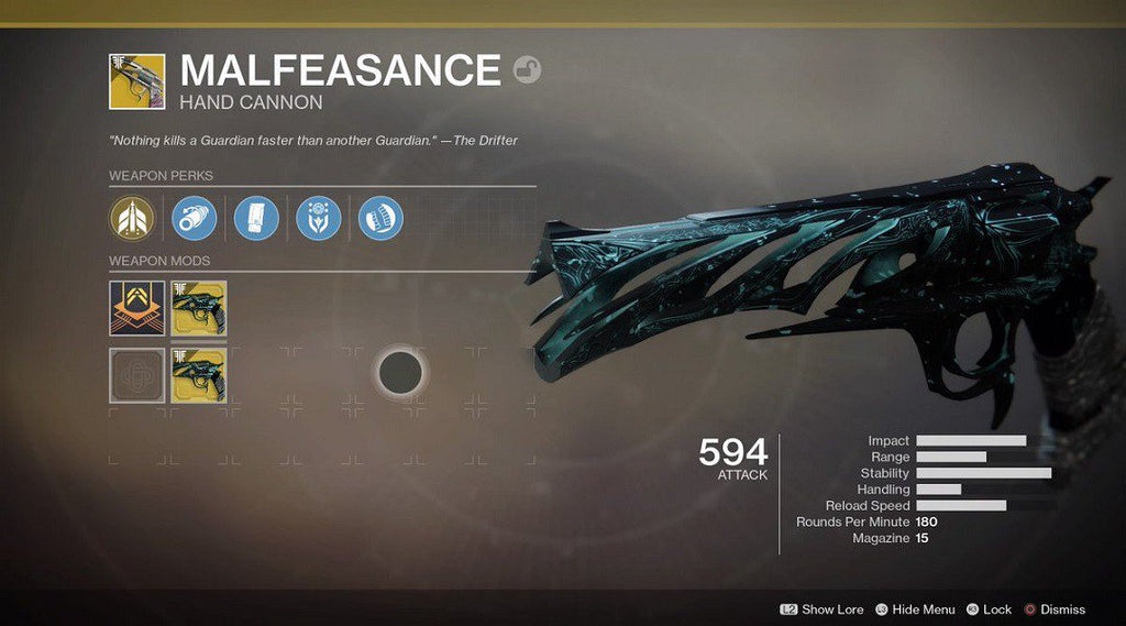 "Exotic Quest - ""Malfeasance"""