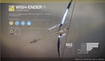 "Exotic Quest - ""Wish-Ender"""