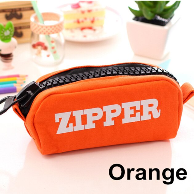 Zipper Elite Pencil Case Pen Holder