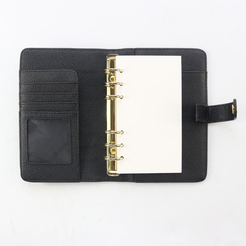 Original Leather Hardcover Binder Planner