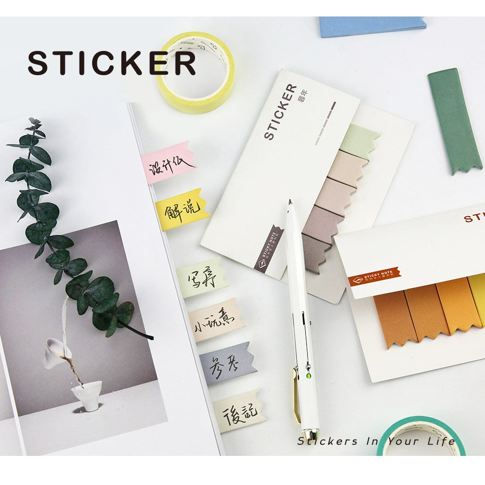 Autumn Pantone Sticky Pad Notes