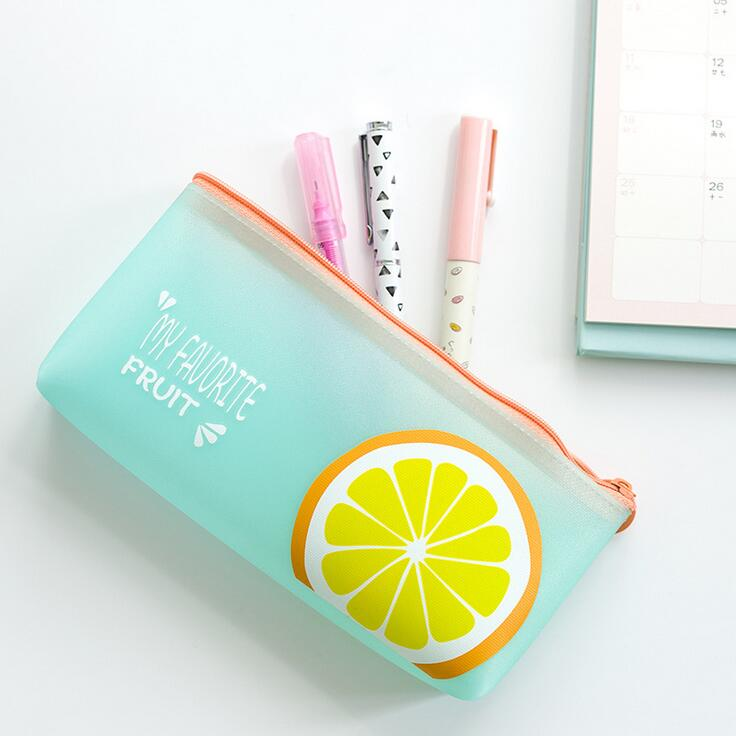 Pencil Cases - Fruit Pencil Bag