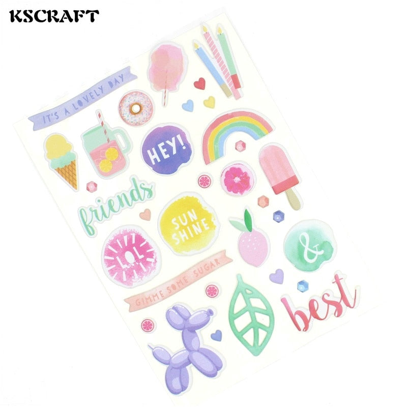 KSCRAFT Summer Is Coming DIe Cut Summer Stickers