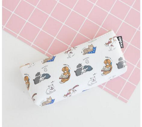 Pencil Cases - Moko Kitty Pencil Bags
