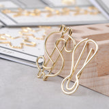 Paperclips - Gold Paper Clips
