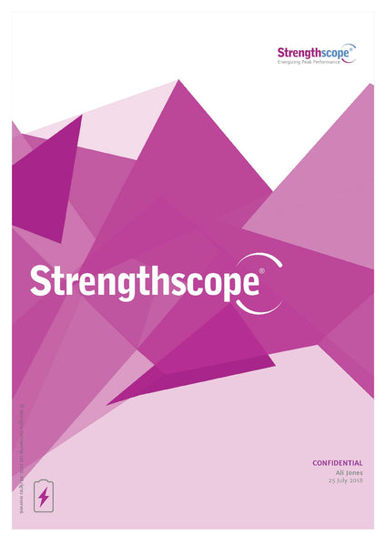 Strengthscope® Standard Report + 1-Hour Phone Coaching Debrief