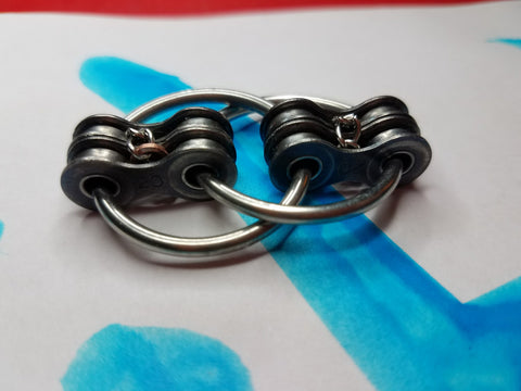 CHAINED #20: LIMITED EDITION Bike Chain Fidget Restless Hand Toy, Hand Exerciser