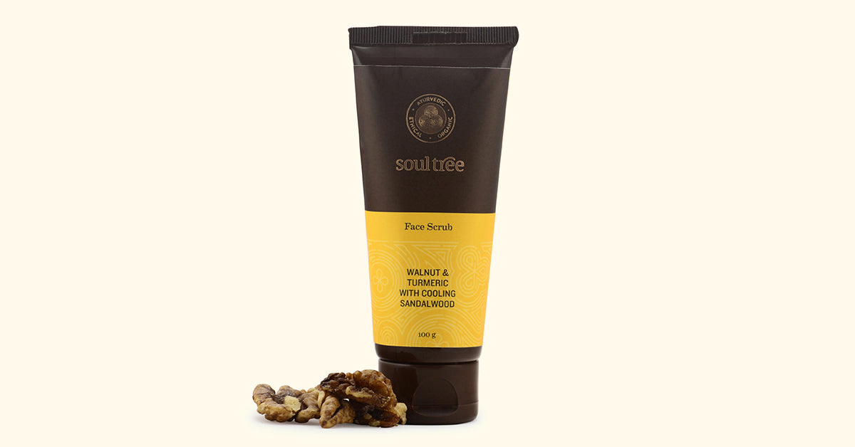 Natural and Ayurvedic Face Scrub by Soultree