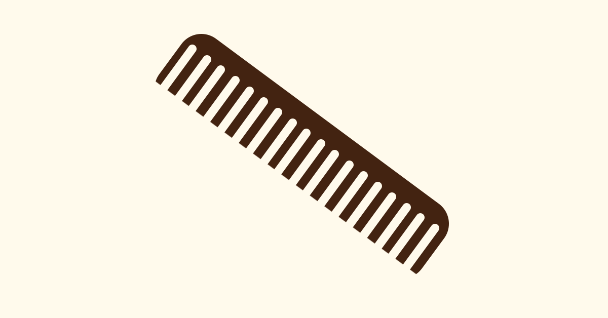 Hair combing tips