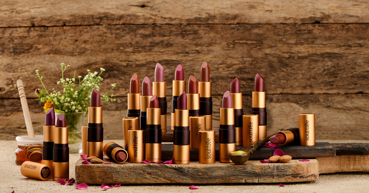 Ayurvedic and organic lipsticks