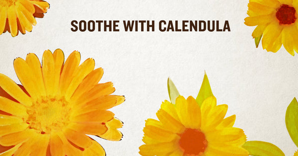 Soothe with Calendula