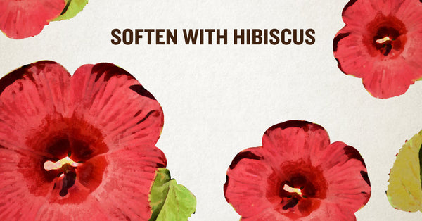 Soften with Hibiscus