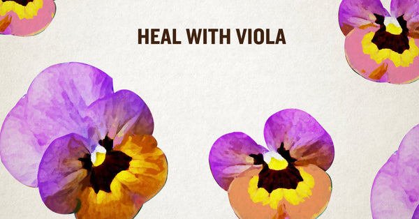 Viola Lip Balm –Heal with Viola