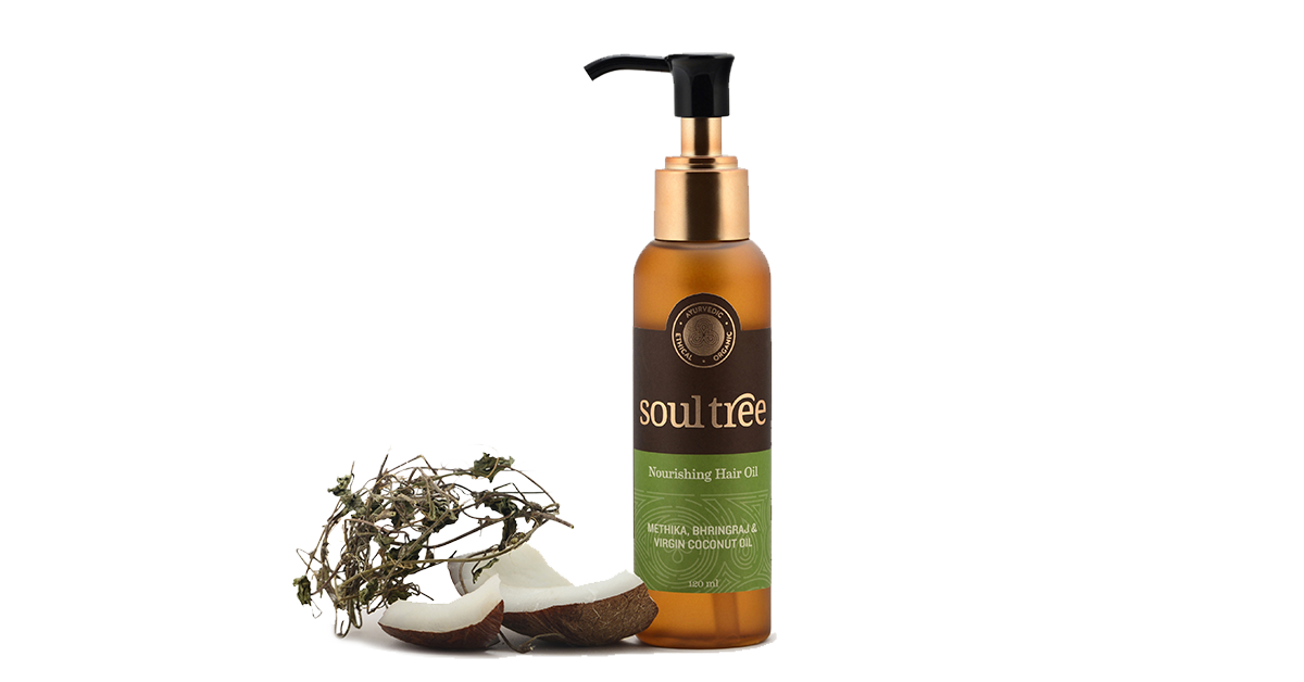 Ayurvedic and Organic Nourishing Hair Oil