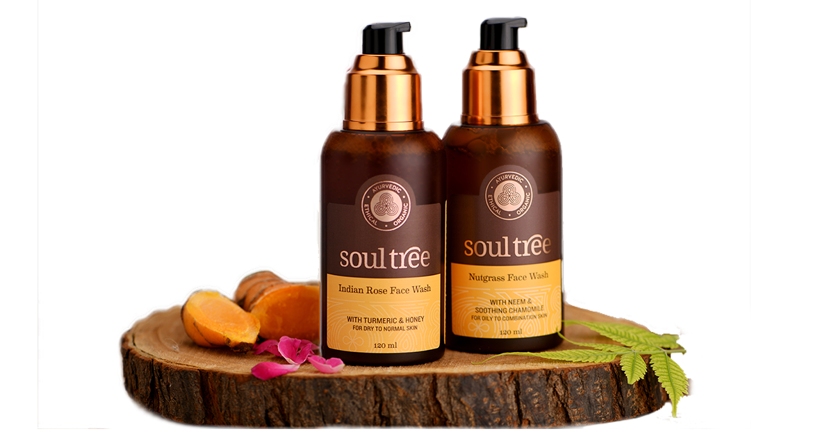 SoulTree Ayurvedic and Organic FaceWash