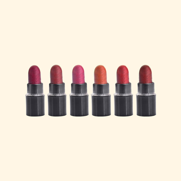 6 Lipsticks Miniature Set