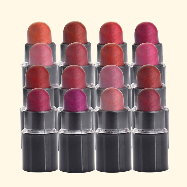 16 Lipsticks  Miniatures  Set