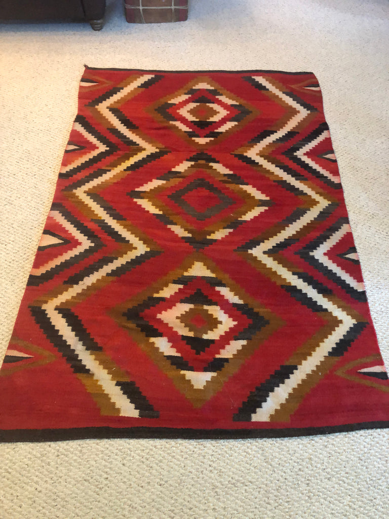 GANADO TRANSITIONAL RUG CA 1910?