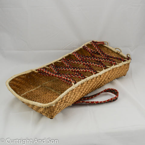 QUILLEYUTE BASKETRY CRADLE