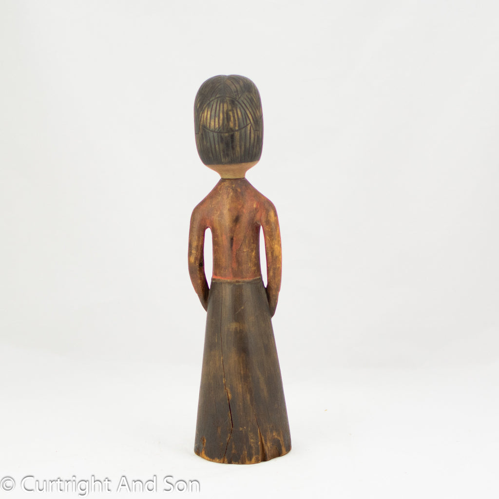 HAIDA FEMALE FIGURE CA 1890