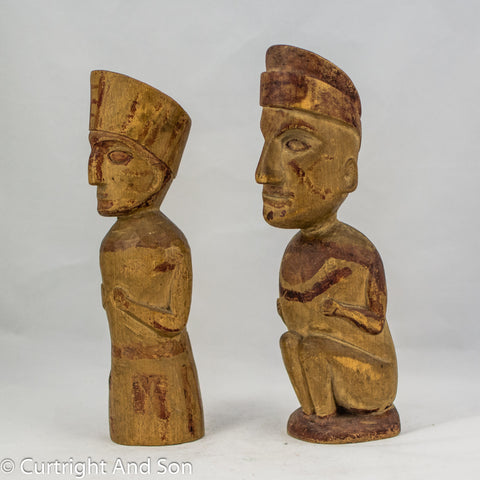 QUILEUTE OBJECTS OF PERSONAL POWER FIGURES price as pair