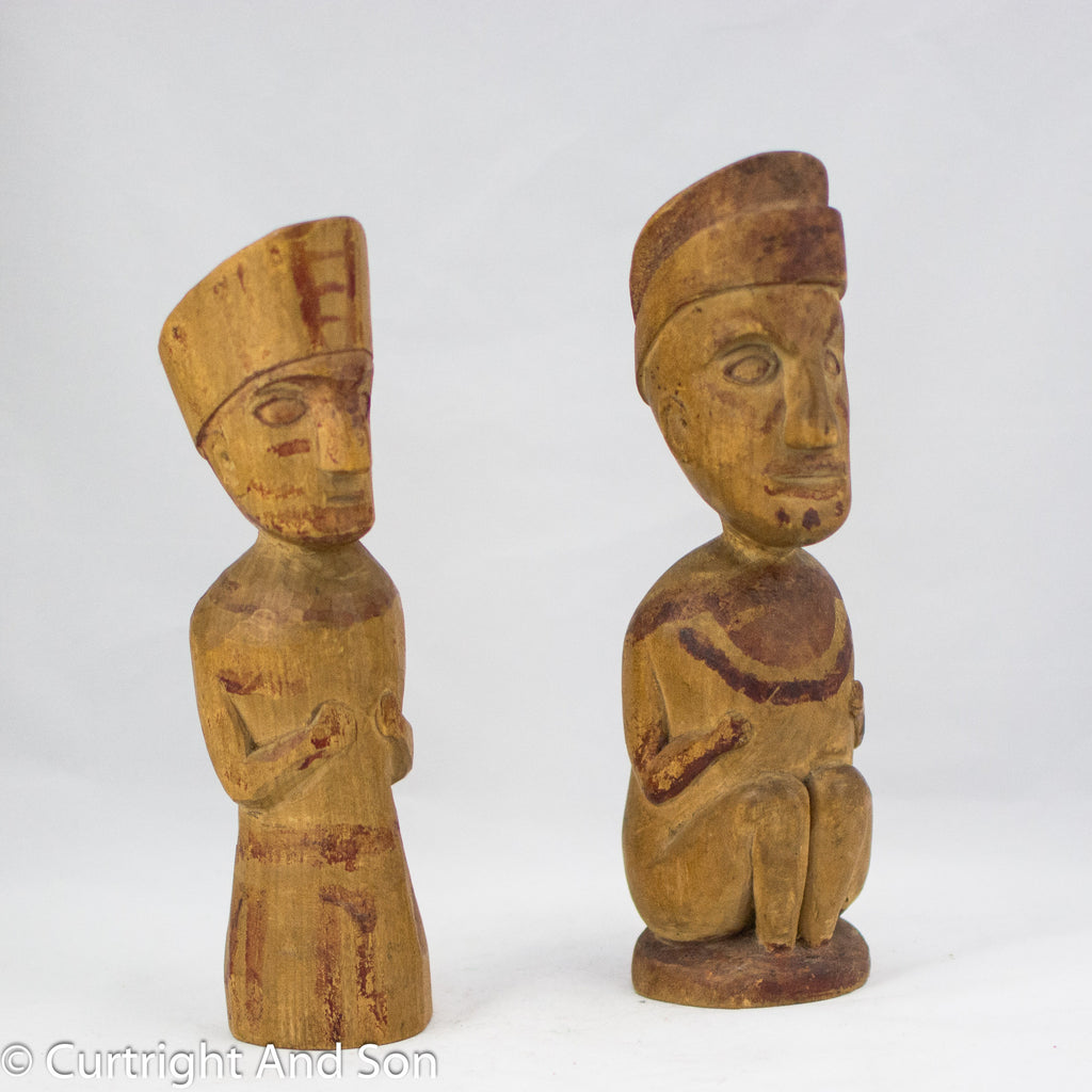 QUILEUTE OBJECTS OF PERSONAL POWER FIGURES