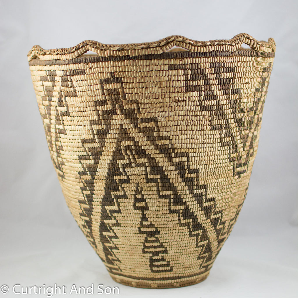 KLICKITAT CONICAL STORAGE BASKET
