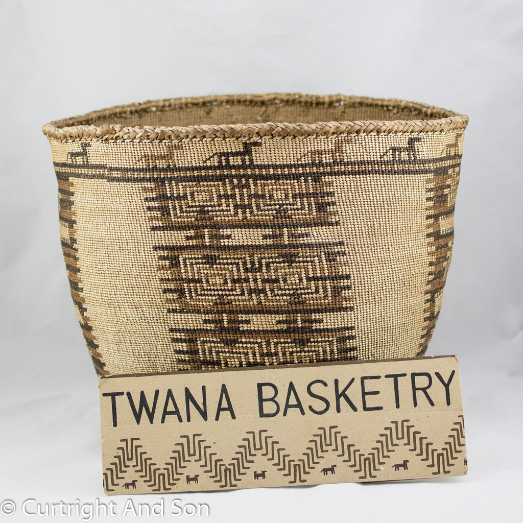 "SKOKOMISH ""TWANA"" SOFT TWINED STORAGE BASKET"