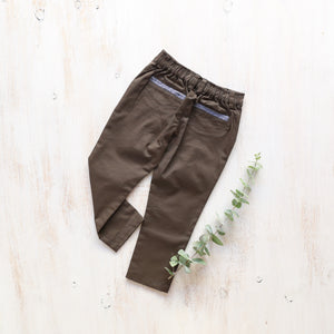 Xavier Pants in Khaki