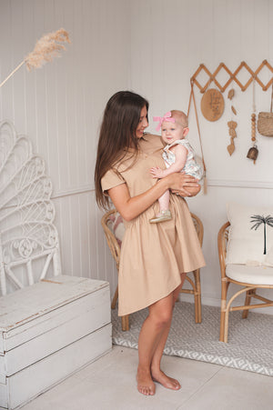 Eadie Dress - Latte