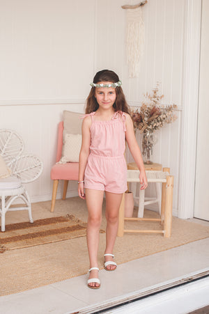 Laurel Playsuit - Pink