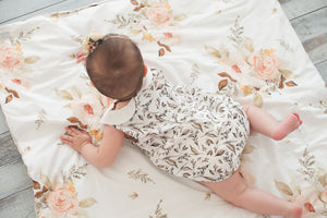 Sadie Romper - Leaves