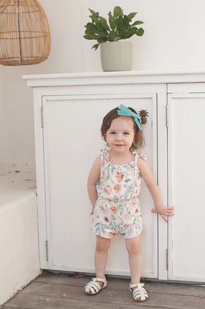 Laurel Playsuit - Floral