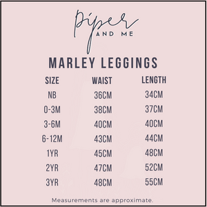 Marley Leggings - Navy
