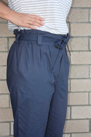 Hazel Pants in Navy