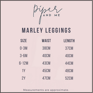Marley Leggings - Dusty Pink