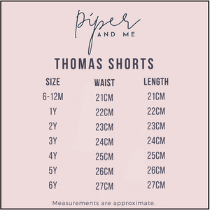 Thomas Shorts - Chocolate