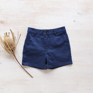 Jax Shorts in Navy