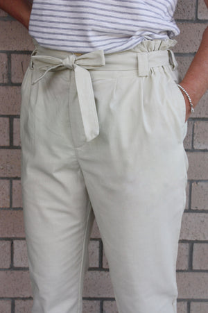 Hazel Pants in Natural